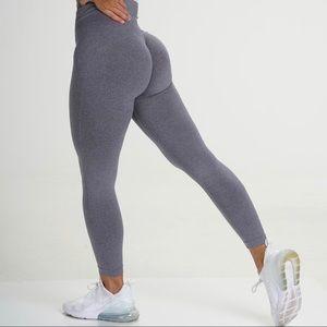 NVGTN Grey NV Seamless Leggings